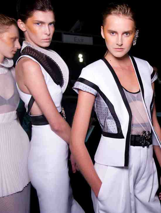 Richard Nicoll Spring/Summer 2011 Collection womenswear runway catwalk fashion