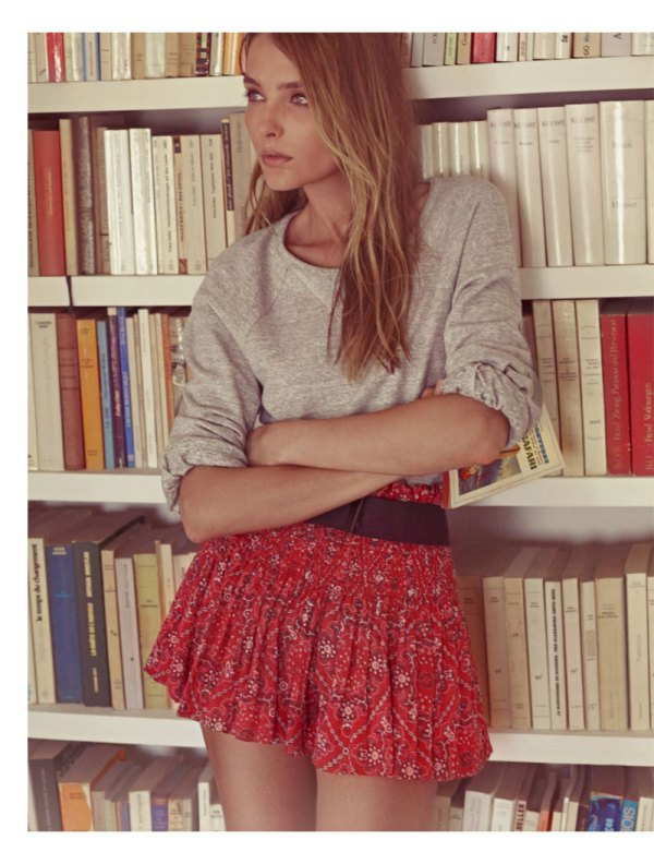Isabel Marant S/S 2011 Lookbook Snejana Onopka by Karim Sadli