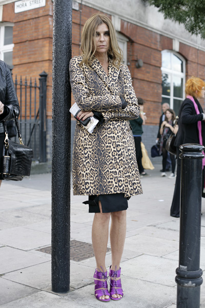 carine roitfeld leopard print coat