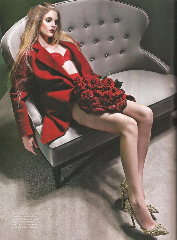 Jessica Bertoncelo by Pedro Ferreira  Vogue Portugal November 2010, Christian Louboutin, shoes, fashion editorial,