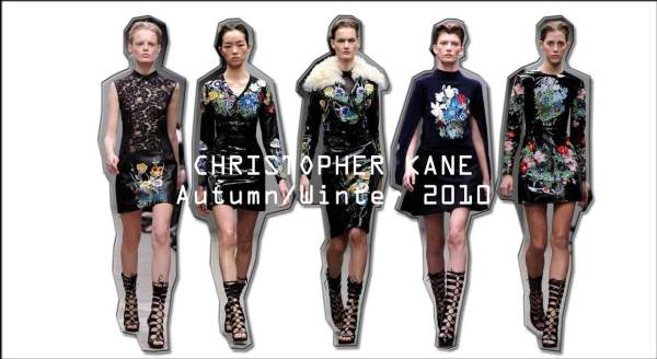 Christopher Kane Autumn/Winter 2010 collection