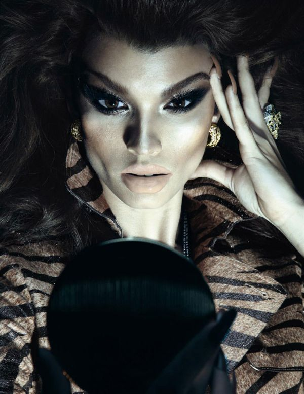 Crystal Renn by Tom Ford for Vogue Paris December 2010/January 2011