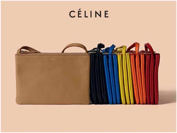 Celine Solo smooth lambskin trio bag Spring 2011 accessories collection