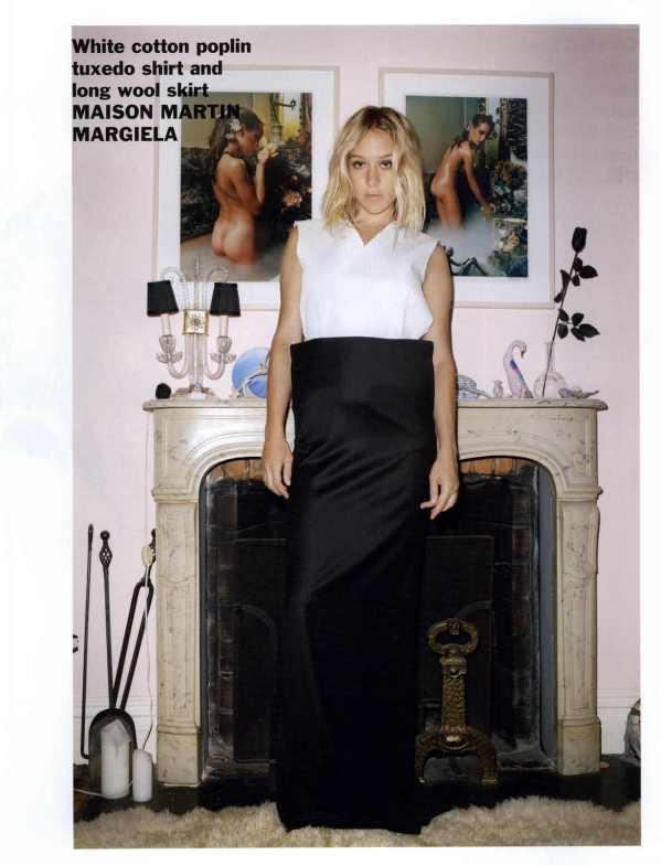 Chloë Sevigny by Terry Richardson  Purple Fashion #14 Fall/Winter 2010-2011