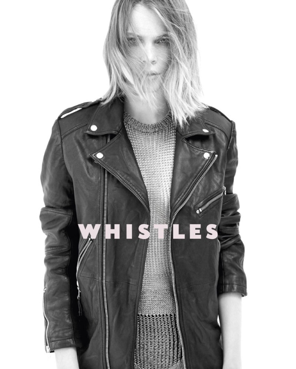 Kim Noorda for Whistles advertising campaign