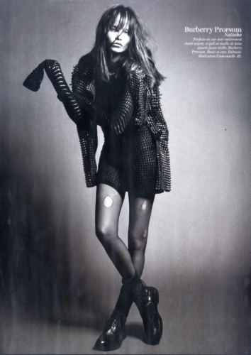 Natasha Poly by Mario Sorrenti Styled by Emmanuelle Alt Vogue Paris February 2011