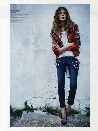Vogue Paris February 2011 carine roitfeld daria werbowy