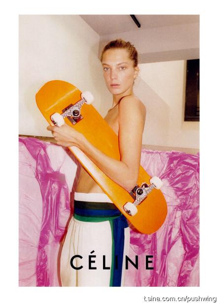 Daria Werbowy by Juergen Teller, Celine S/S 2011 advertising campaign