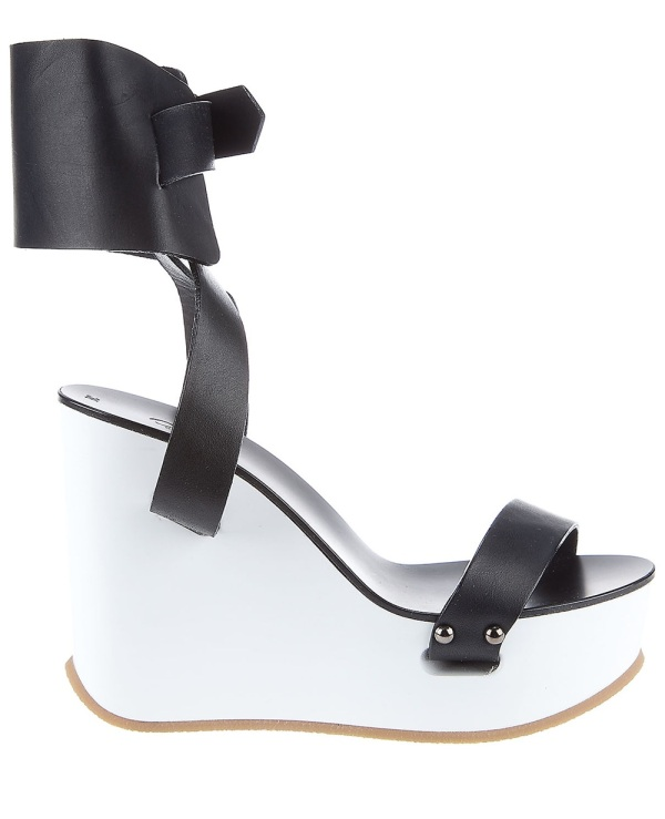 Chloe Ankle cuff wedge sandals shoes Spring Summer 2011 collection
