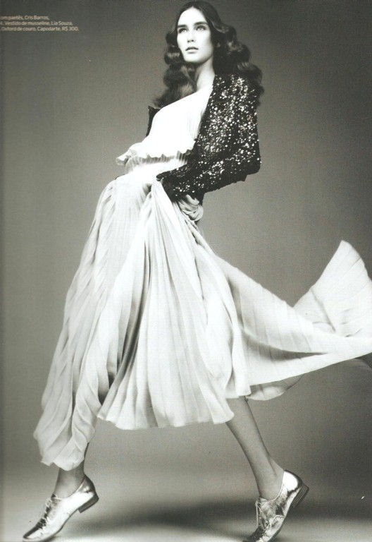 Alexia Bellini by Fábio Bartelt Elle Brazil, December 2010 long floaty skirts