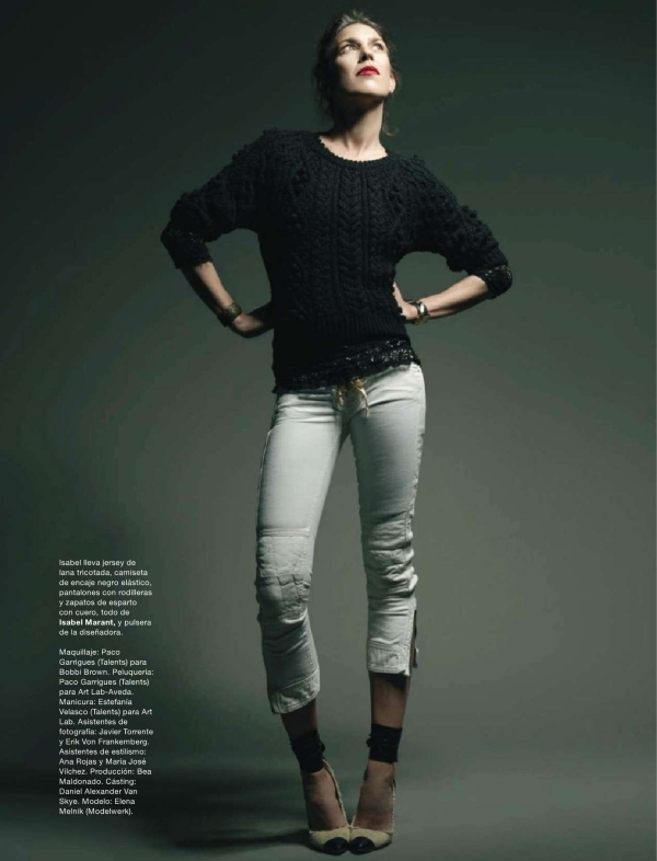 Isabel Marant by Xevi Muntane Harper's Bazaar Spain February 2011, isabel marant spring 2011 collection