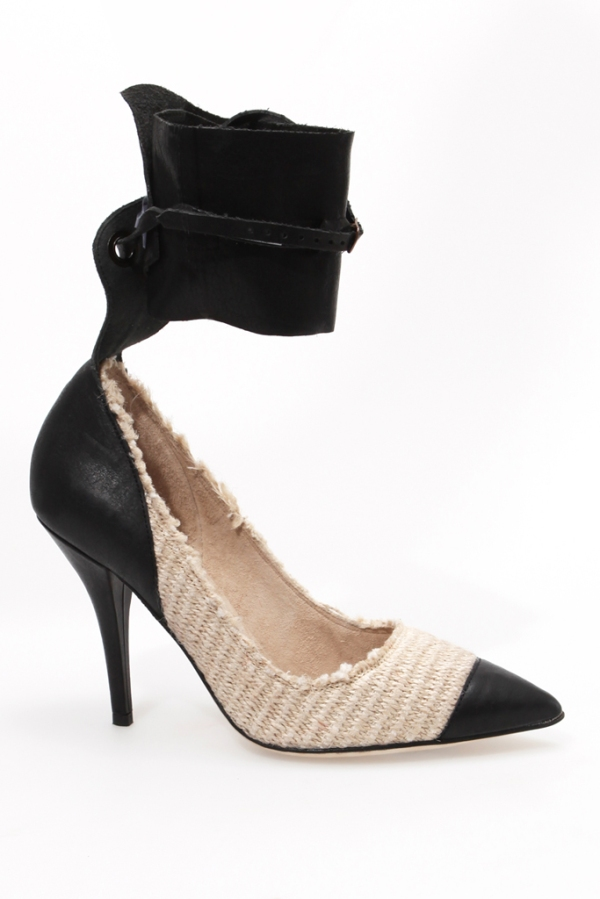 Isabel Marant Ankle cuff heels shoes Spring Summer 2011