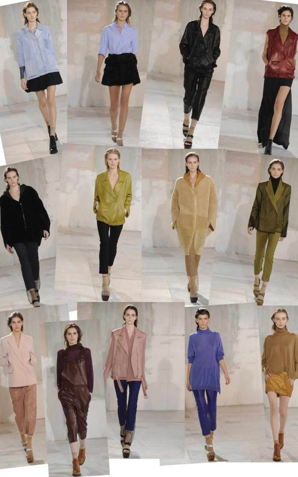 Acne Fall/Winter 2011-12 runway collection London Fashion week