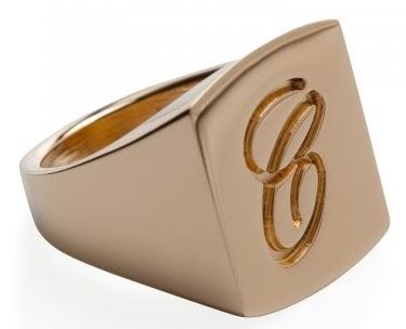 Chloe ring, pinky rings, gold rings, designer rings, Chloe,