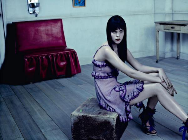 Meghan Collison by Jacques Olivar for Marie Claire Italia March 2011 fashion editorial model photographer