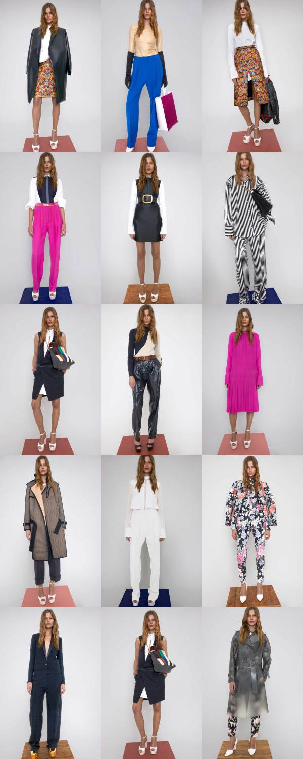 Celine Resort 2012 collection, Phoebe Philo, Celine, fashion collection, pyjama pant trend,
