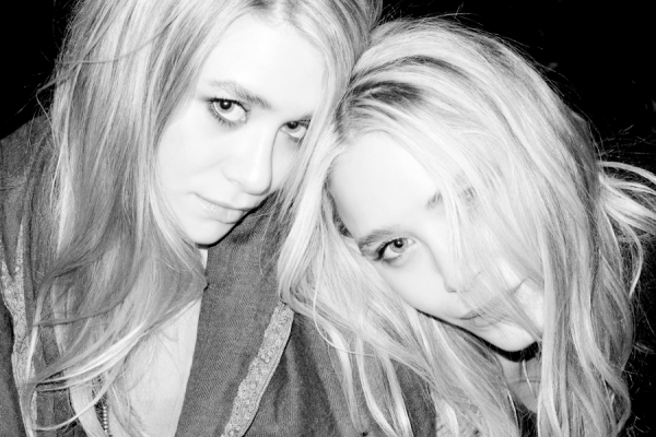 Ashley & Mary Kate Olsen by Terry Richardson, fashion icons,