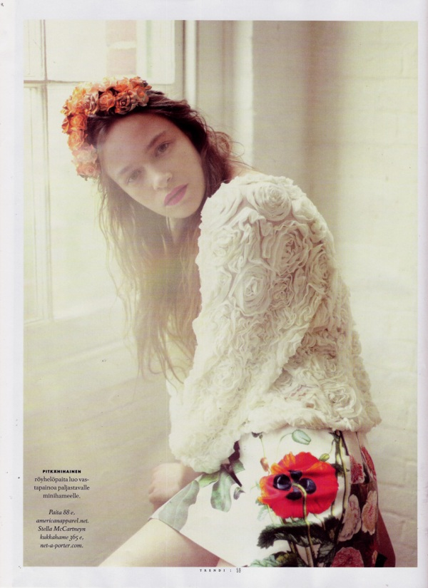 Photographed by Nicole Maria Winkler Trendi Finland June 2011, american apparel, stella mccartney