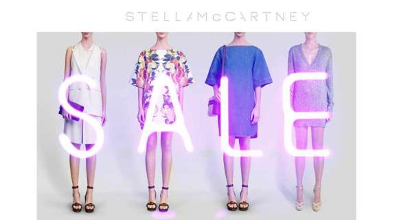 Stella McCartney summer 2011 sale flyer