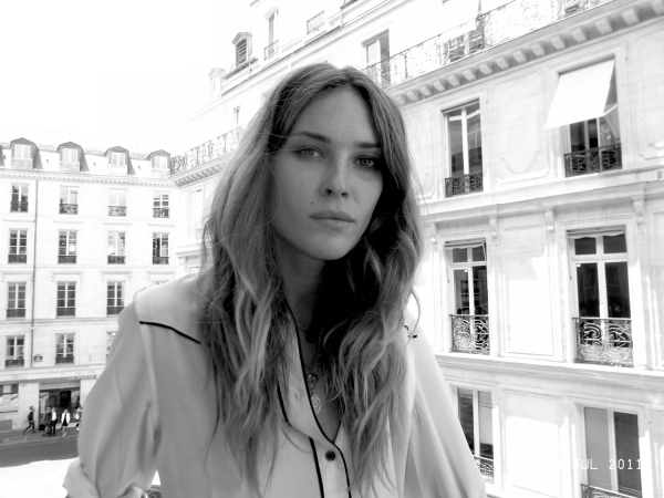 Erin Wasson at the Zadig & Voltaire F/W 2011-2012 presentation