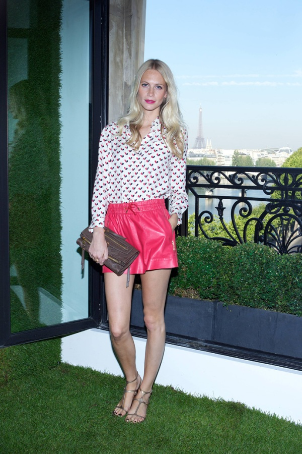 Poppy Delevigne at Louis Vuitton Resort 2012