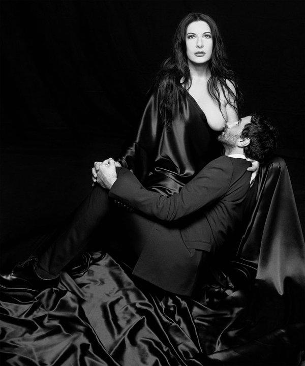 "Riccardo Tisci and Marina Abramovic  Visionaire 60 ""Religion"" by Riccardo Tisci"