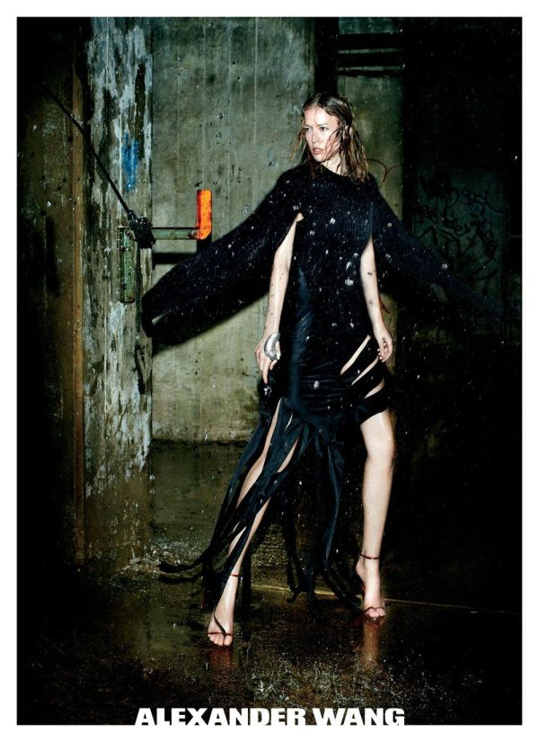 Raquel Zimmermann by Fabien Baron Alexander Wang F/W 2011-12