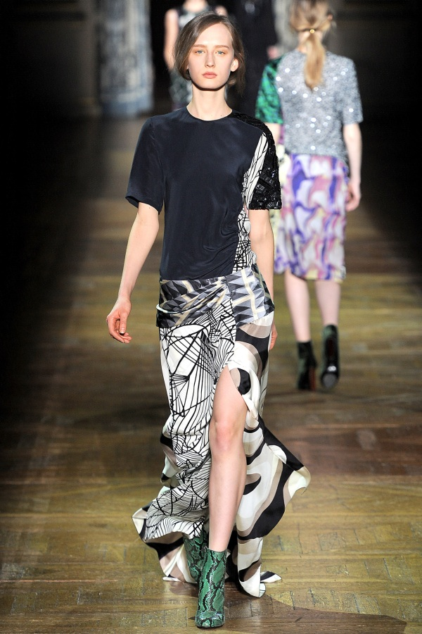 Dries Van Noten Fall/Winter 2011-12. fashion collections