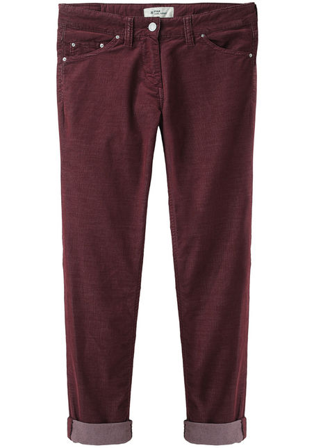 Étoile Isabel Marant Ray Corduroy Pants available from La Garconne, maroon jeans trend