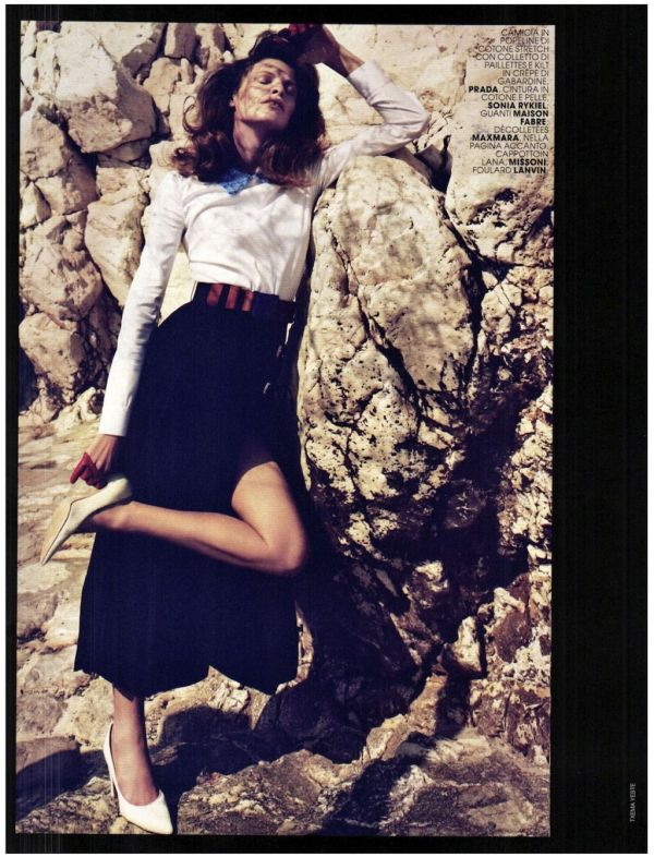 Tanga Moreau by Txema Yeste Marie Claire Italia August 2011 fashion editorial