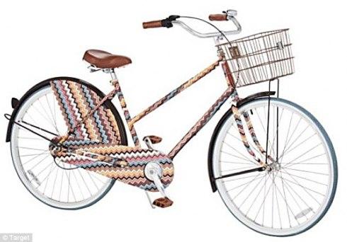 Missoni for Target bike available from September
