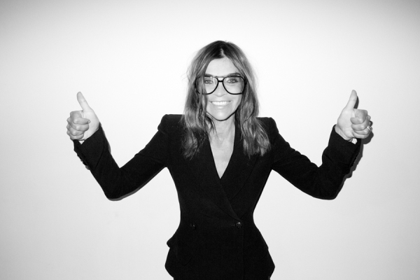 Carine Roitfeld by Terry Richardson
