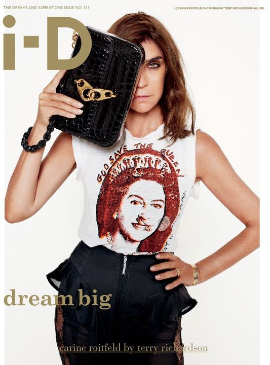 Carine Roitfeld by Terry Richardson for i-D Fall 2011