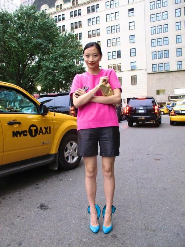 Jane Doe at New York Fashion Week, SS12