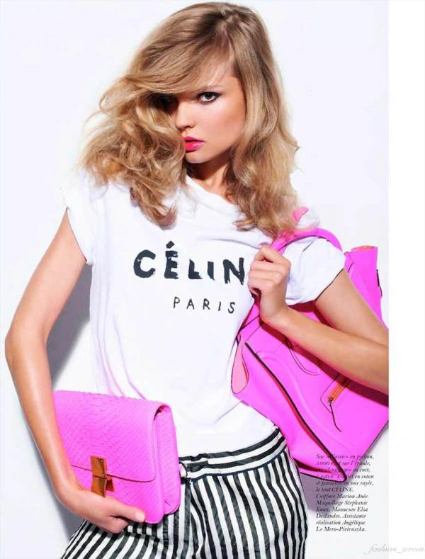 Handbags by Celine Vogue Paris October 2011 Celine Classic box bag, Celine small luggage bag