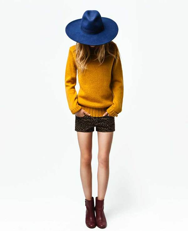 TRF September 2011@ Zara lookbook fashion