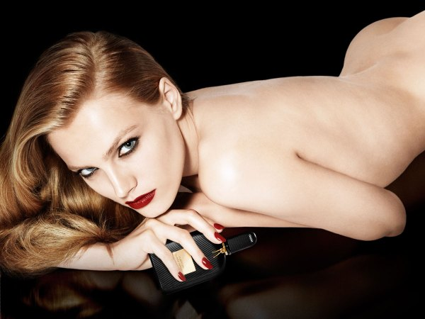 Tom Ford Black Orchid advertising campaign