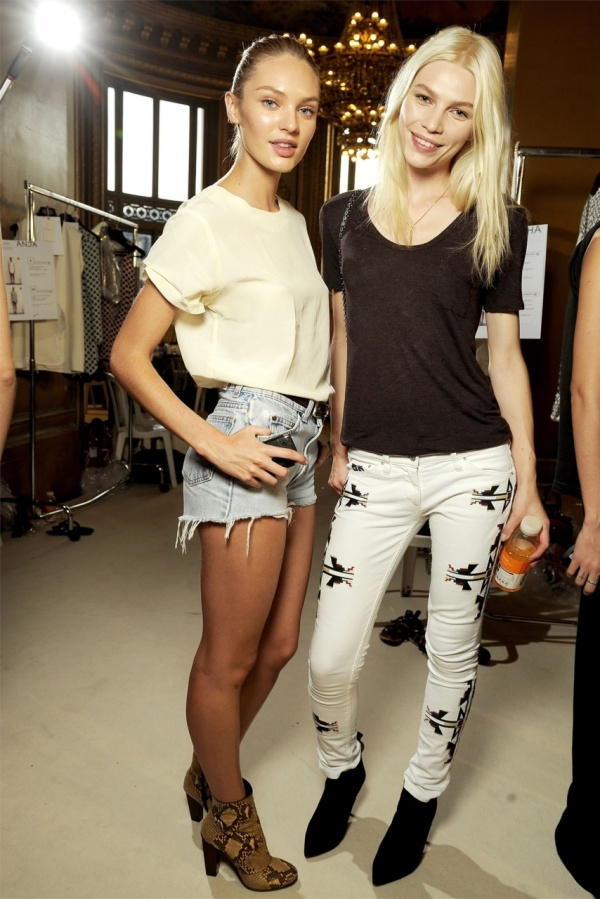 Isabel Marant Renell jeans summer 2011