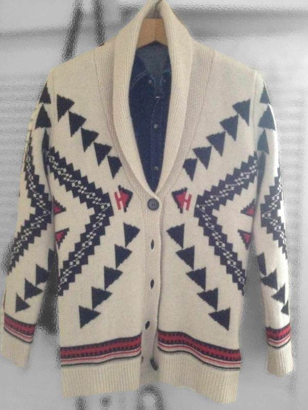 Sandro Femme Winter 2011 collection navajo cardigan