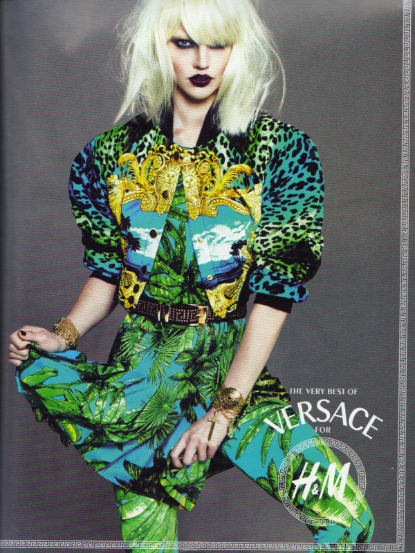 Versace for H&M advertising campaign 2011