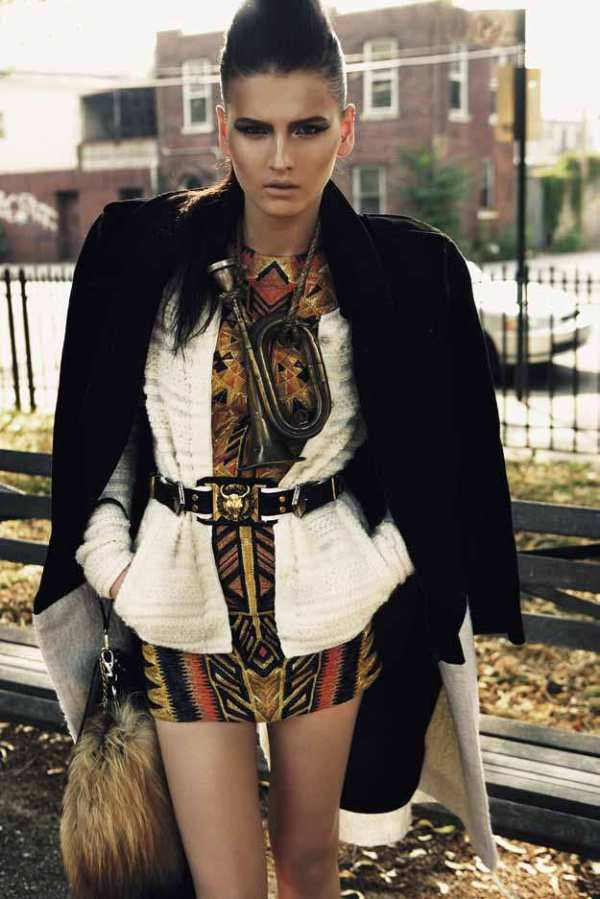 Photographed by Claudia Knöpfel & Stefan Indelkofer Vogue Germany November 2011