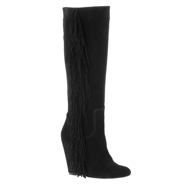 aldo catto wedge boots, knee boots, fringed boots, isabel marant manly boots,