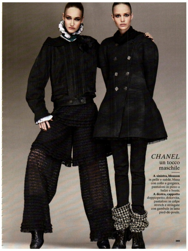 Glamour Italy October 2011, chanel