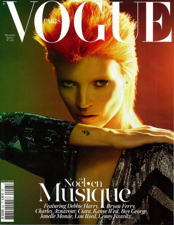Kate Moss by Mert and Marcus Vogue Paris December / January 11.12