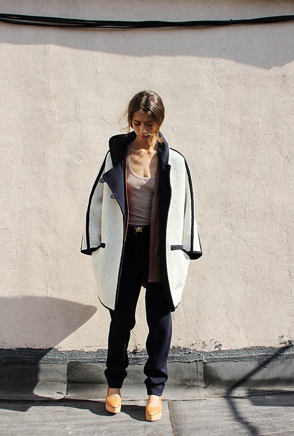 VERONIQUE LEROY Long Reversible Jacket