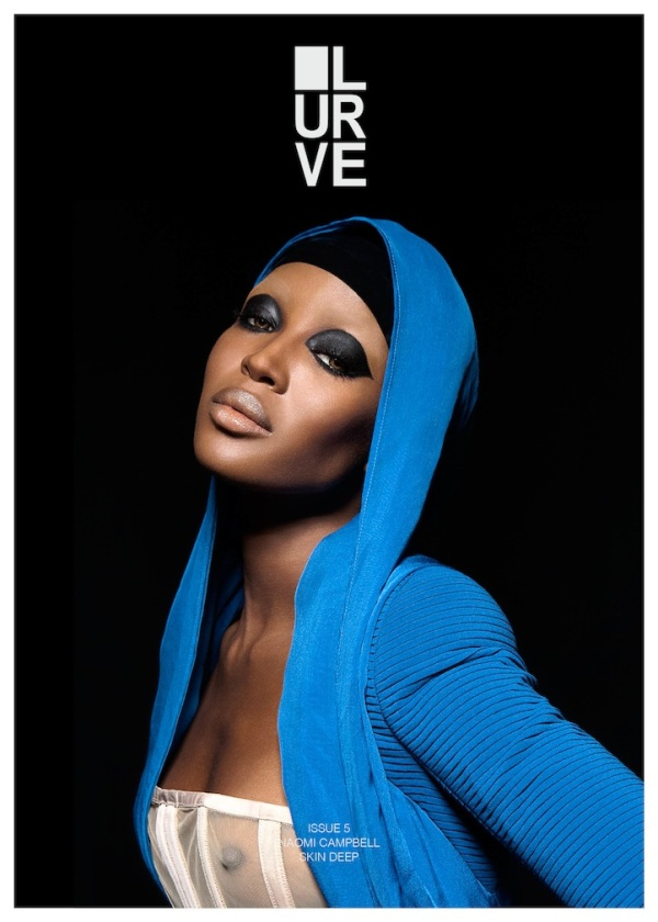 LURVE magazine Issue 5 - SKIN DEEP Naomi Campbell photographed by Ronald Dick styling by Sasa Thomann