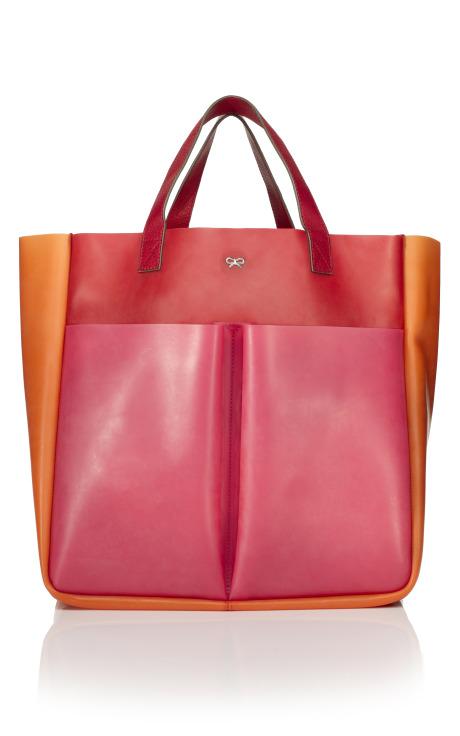 Anya Hindmarch Raw Nevis Rubber Tri-Colour Tote