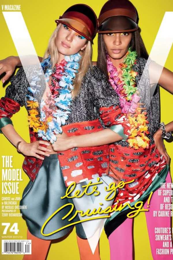 V Magazine #74 Winter 2011 / 2012 : by Terry Richardson