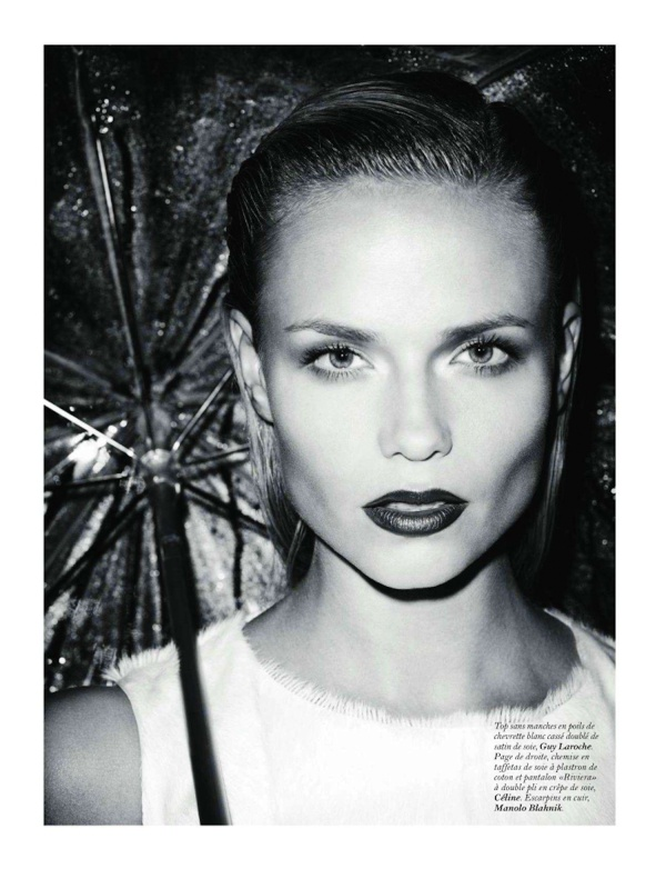 Natasha Poly by Terry Richardson Styled by Marie Chaix Vogue Paris November 2011