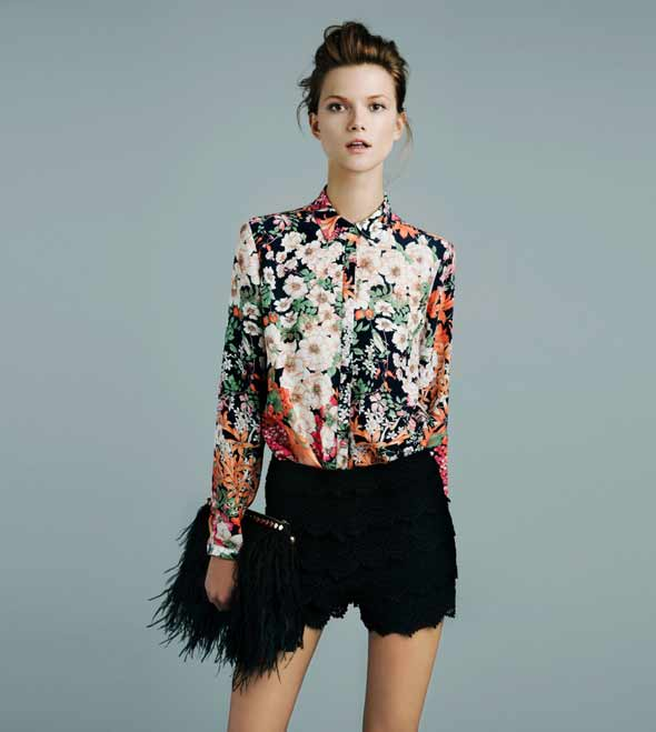 Zara November 2011 Lookbook